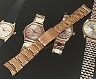 Rolex 19mm 18k ROSE GOLD Deployment Rivited Link Bracelet