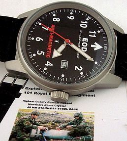 Explosive Ordnance Disposal E.O.D. Wristwatch British Military